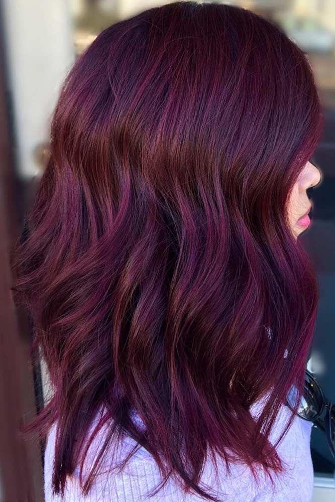11+ Dark burgundy purple hair color ideas in 2021