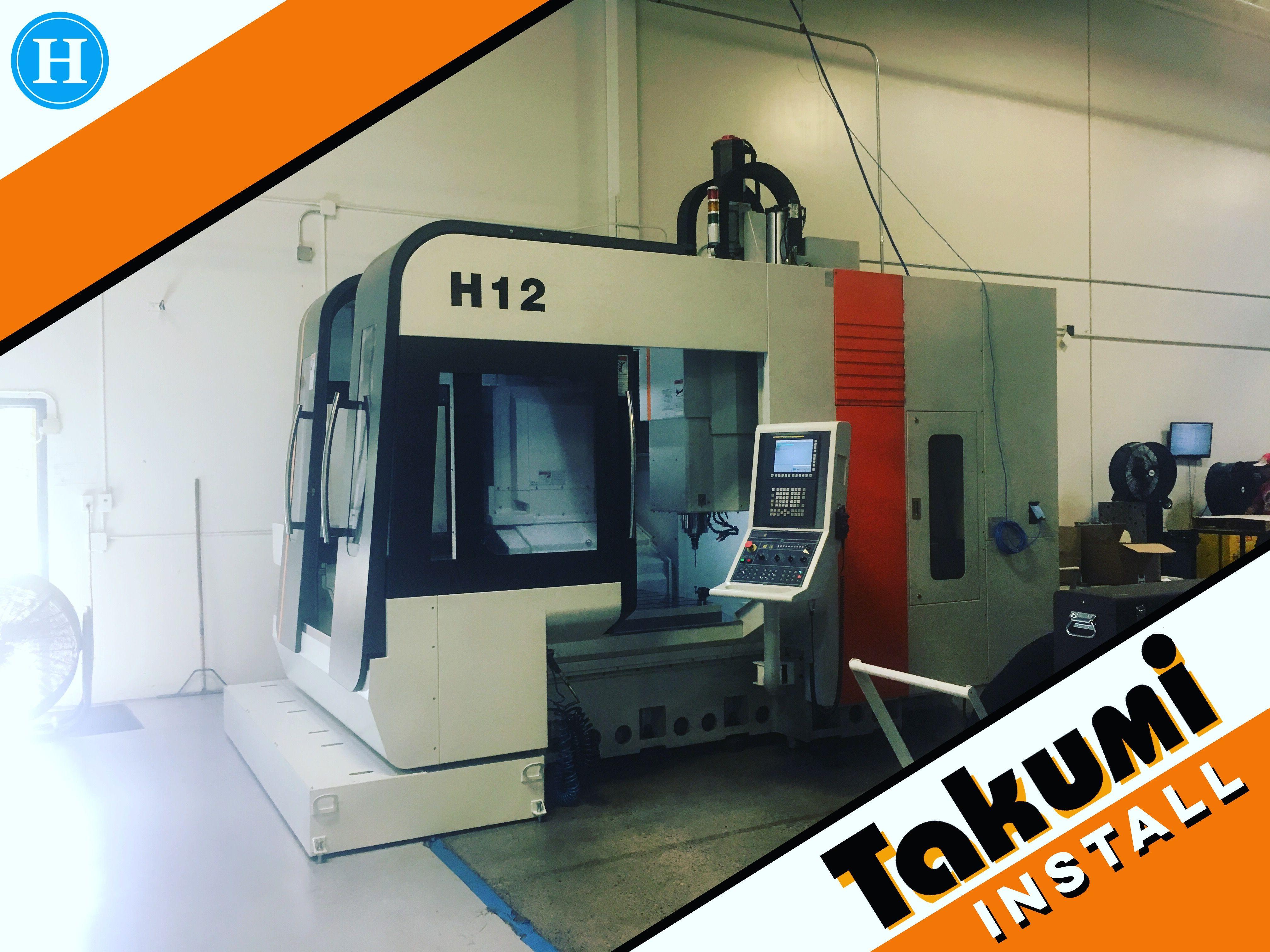 Nice A New Takumi H12 Being Installed Today. Www.humstonmachinery.com U2022 U2022 U2022