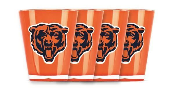 #Chicago #Bears Shot Glass Insulated & Shatterproof Quantity 1-4 #NFL Licensed from $6.99