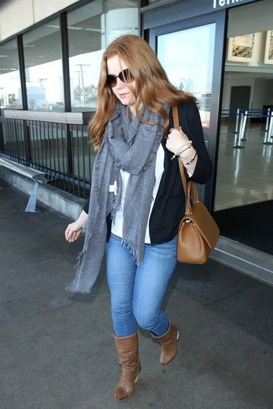 Amy Adams seen at LAX on September 26, 2014 in Los Angeles, California