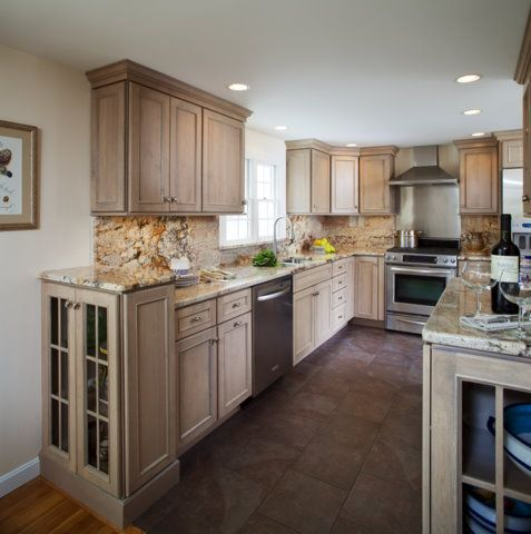driftwood kitchen cabinets - Google Search | Beach House ...