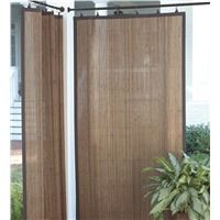 Outdoor Bamboo Curtain Panels For Shade And Privacy Outdoors