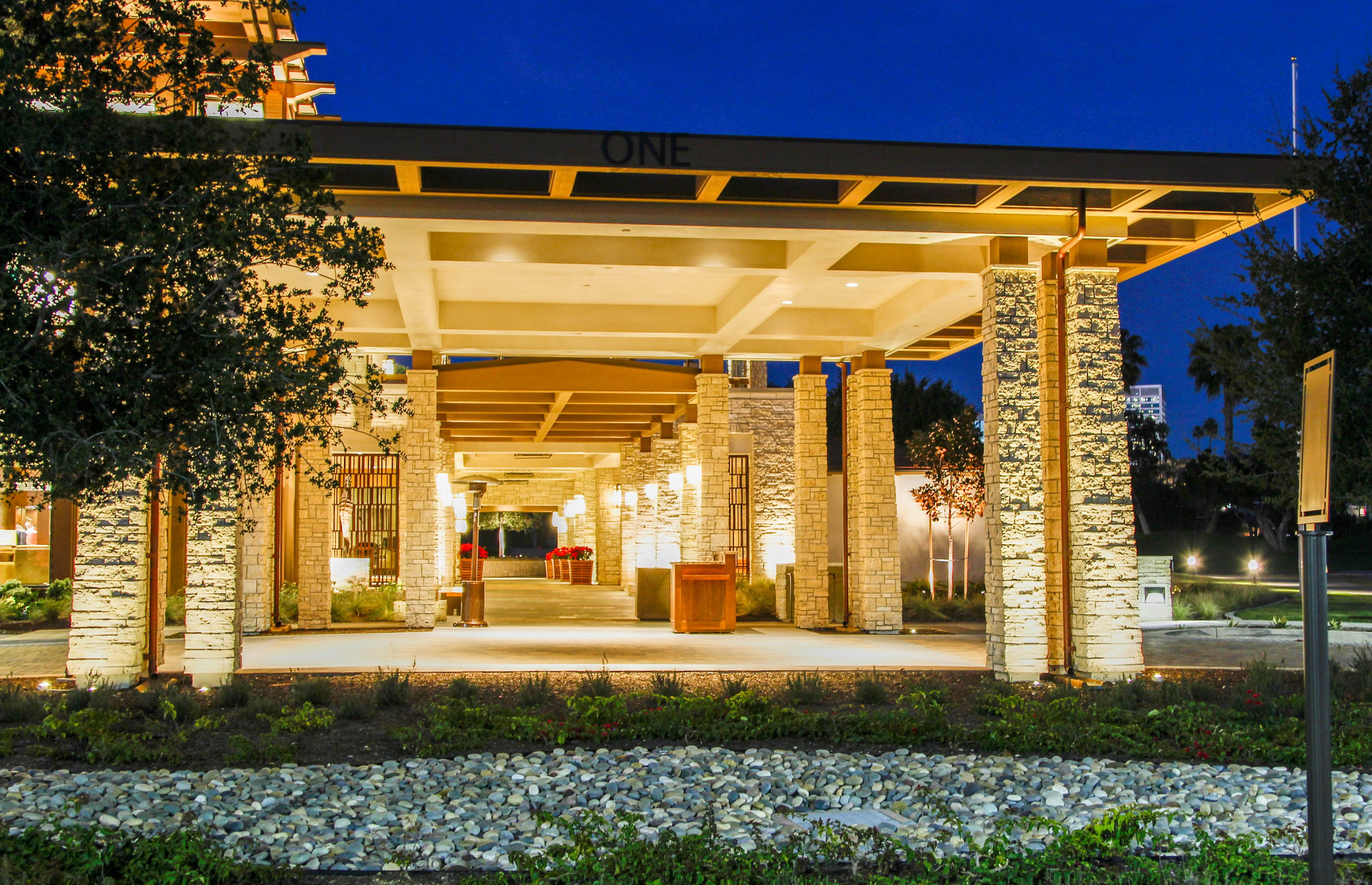 Interior And Exterior Lighting Design For Golf Clubhouse