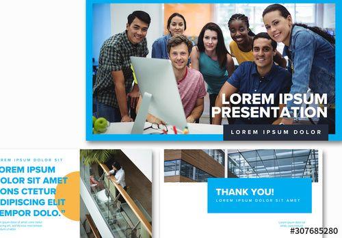 Company Report Presentation Layout