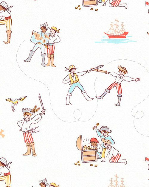 Best of Sarah Jane - A Pirate's Life - Quilt Fabrics from www ... : best quilt fabric online stores - Adamdwight.com