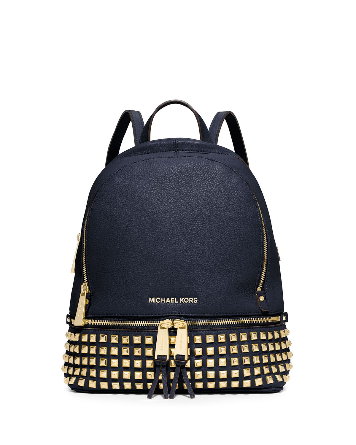 MICHAEL Michael Kors Rhea Small Studded Leather Backpack 13c3a85f6d01b