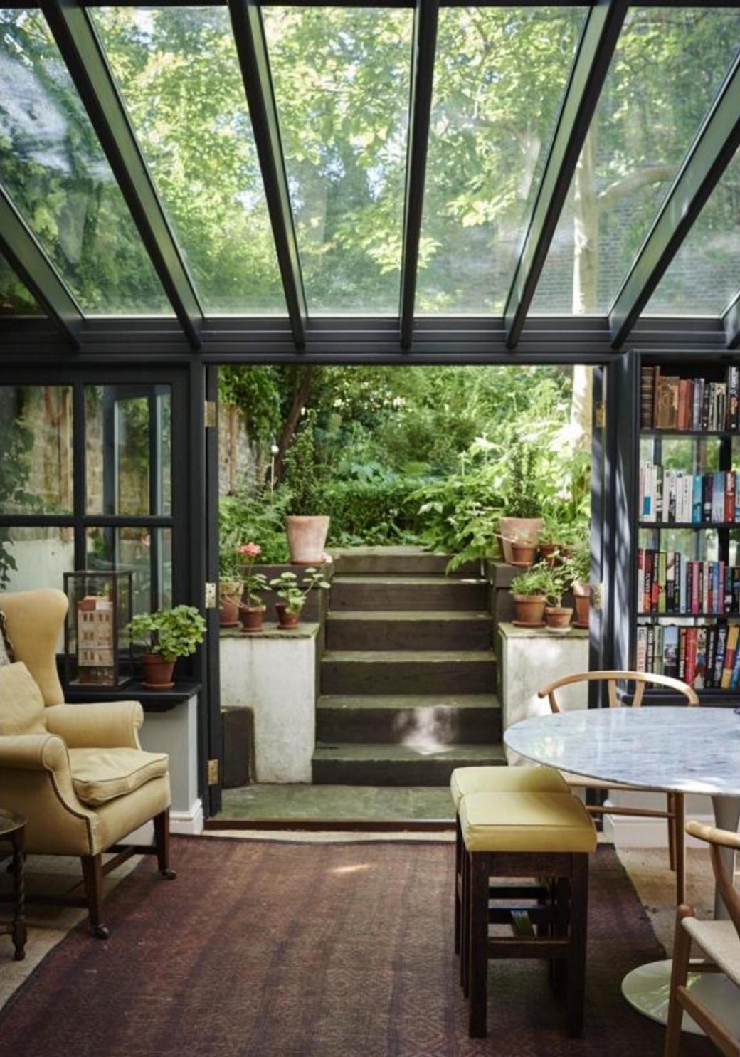 Garden apartment Natural home decor, House styles, House