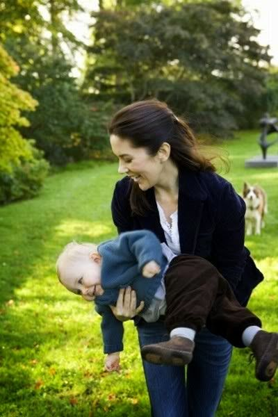 15 October 2006 - Prince Christian's First Birthday, Fredensborg Palace