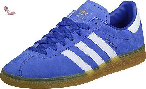 best cheap c1047 3eec7 adidas München Blue White Gum3 45 - Chaussures adidas ( Partner-Link)