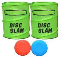P&P Imports Disc Slam Game GREEN TARGETS/2 DISCS SET
