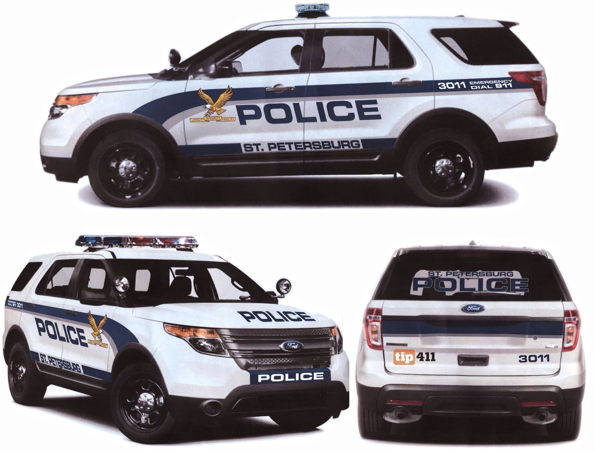 St  Petersburg Florida Police | Police cars | Police cars