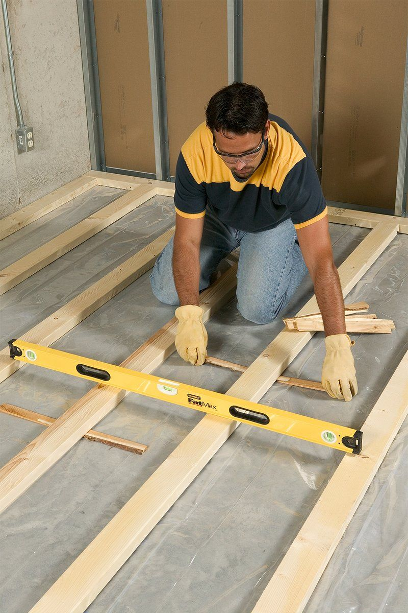 How to Install Framing for Sleeper Floors Строительство