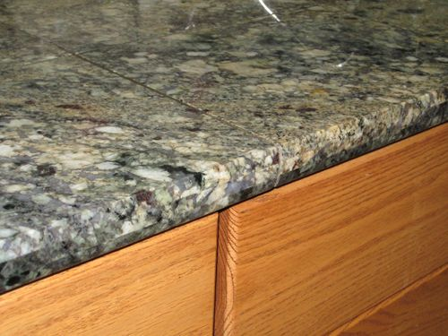Polished Porcelain Tiles Countertop This Custom Granite Tile