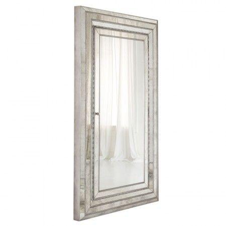 Melange glamour floor Mirror with hidden jewelry storage. So art ...