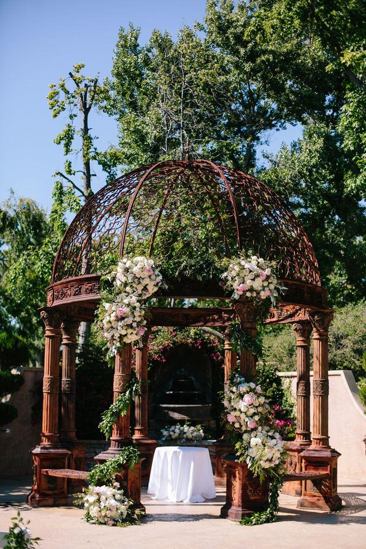 Stylish Spring Weddings Color Scheme Ideas Gazebo