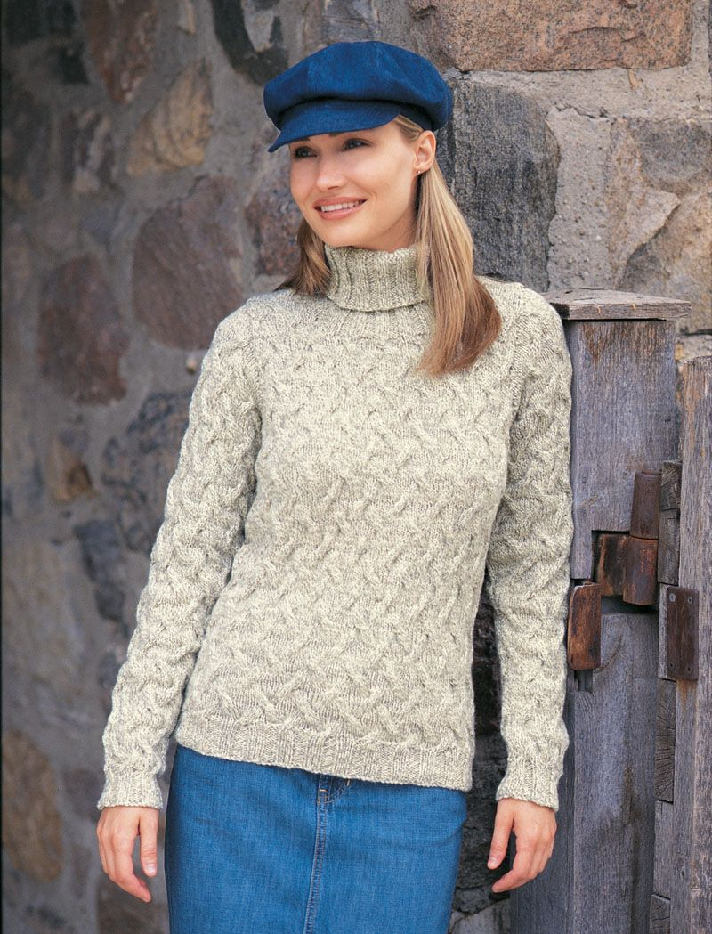 Patons® Classic Wool Shadow Cables #knit #pattern | Knit/Crochet ...