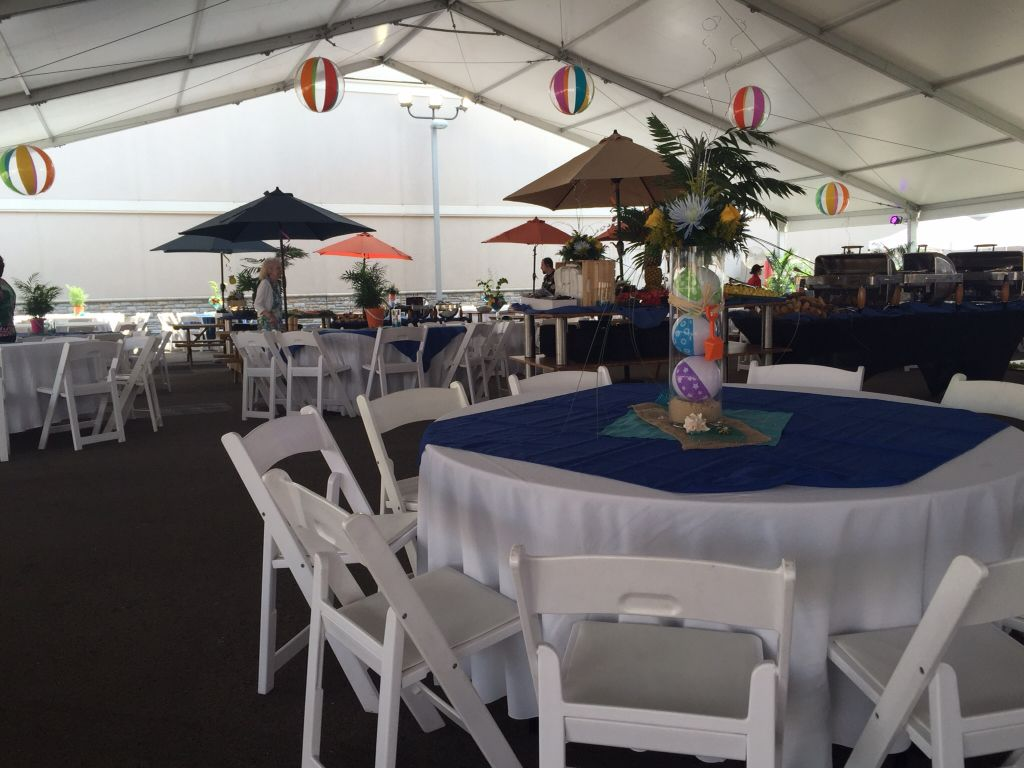 An outdoor event for the Washington Food Bank. #event #party #foodbank #MeadowsCasino