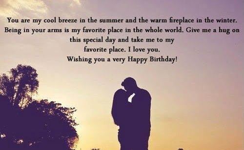 Romantic happy birthday quotes for my boyfriend