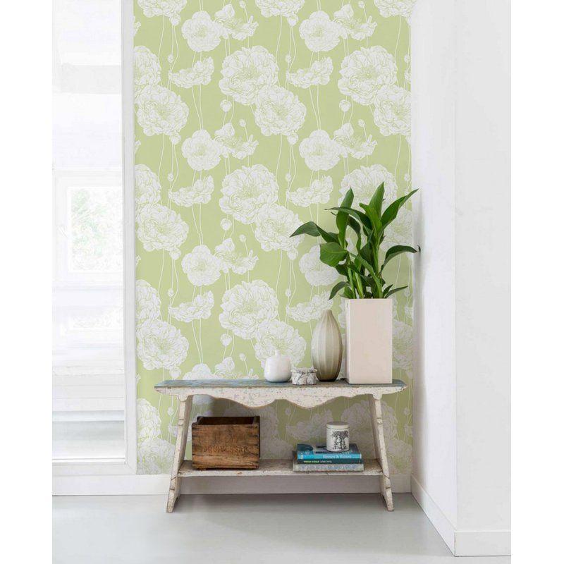 Scotty Peony Peel And Stick Wallpaper Panel Wallpaper Panels Peel And Stick Wallpaper Peony Wallpaper