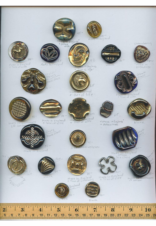 Bimini1 Jpg 1000 1450 Glass Buttons Vintage Buttons Vintage