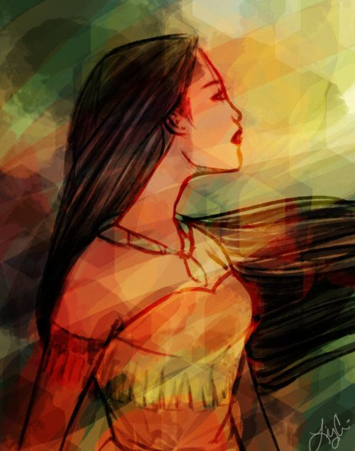 """Pocahontas. """"Colors of the Wind"""" still makes me cry.  It was my daughter's song when little!  <3"""