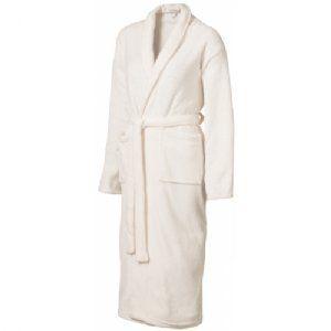 Badjas   12607000  Badjas. Soft touch badjas met sjaalkraag en twee zakken. De badjas is voorzien van een ophanglus en een ceintuur. One size....