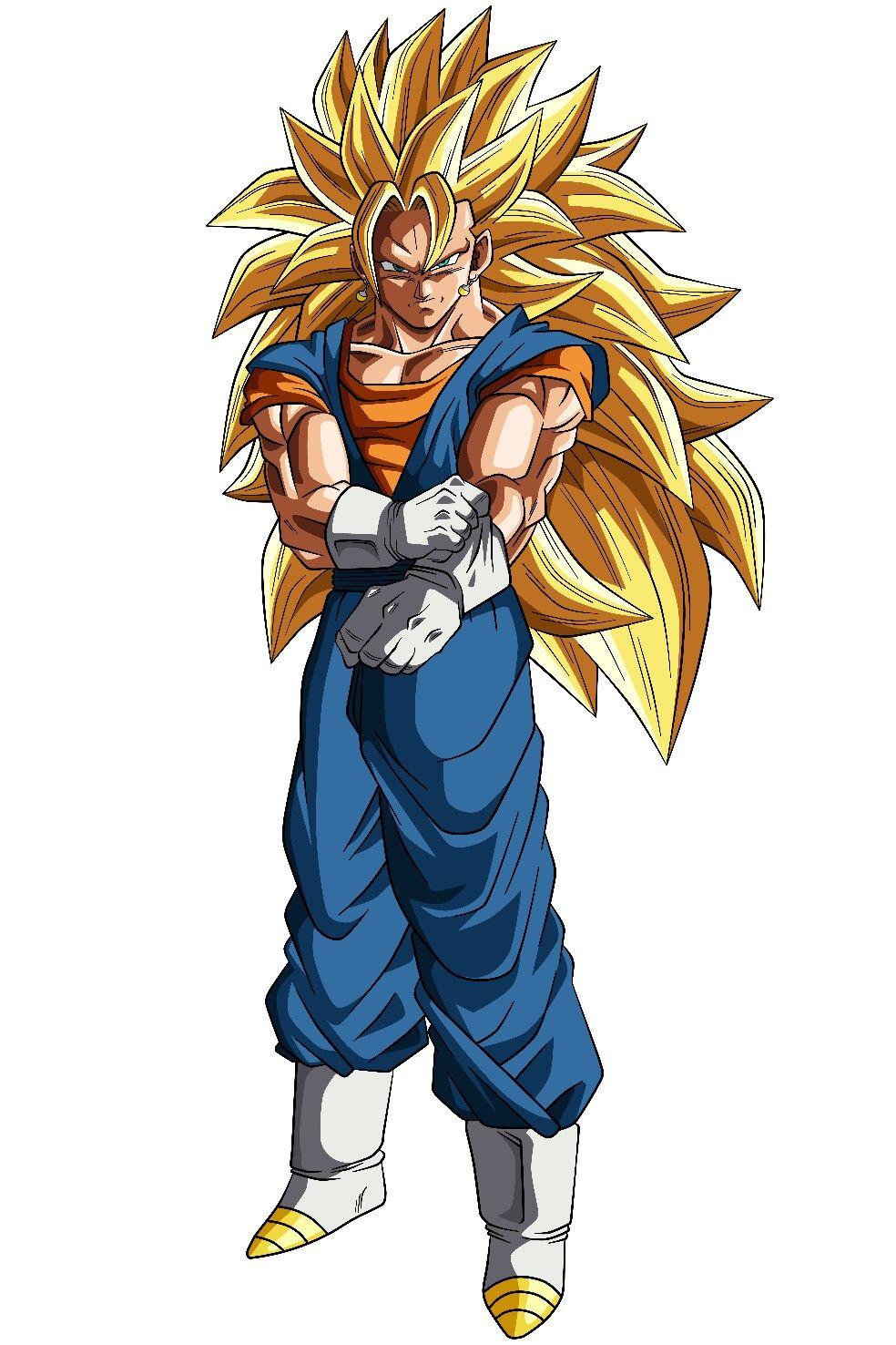 Vegito Ssj 3 Figuras De Goku Personajes De Dragon Ball Fotos