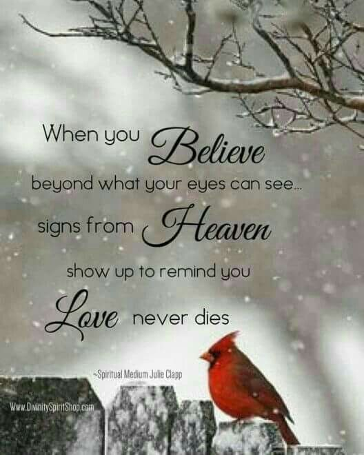 Grief Quotes, Signs From Heaven