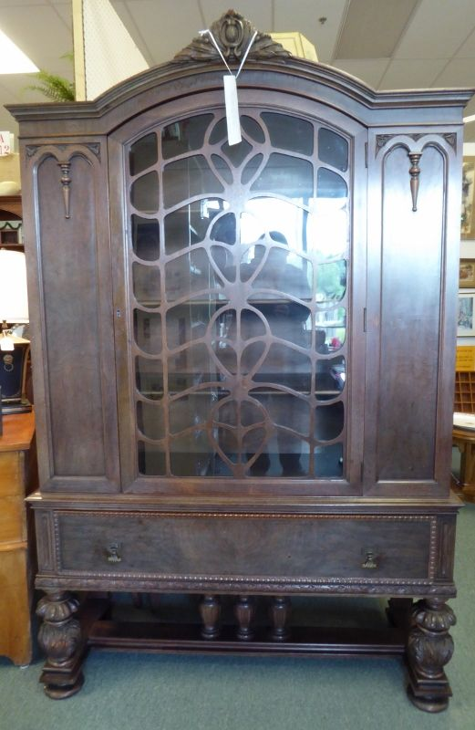 Walnut Cabinet From Booth 42   HE Shaw Furniture Comany   Grand Rapids. (w