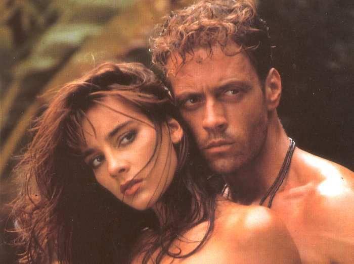 Rocco Siffredi dan Rosa Caracciolo di film Tarzan X