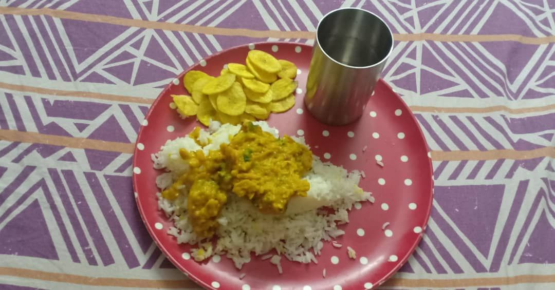 The humble dal and rice!