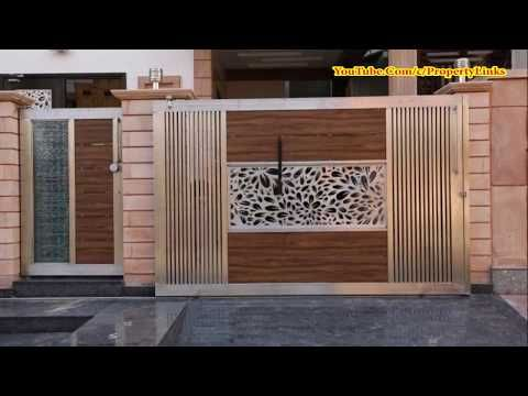 Top front main gate designs youtube also home in rh pinterest