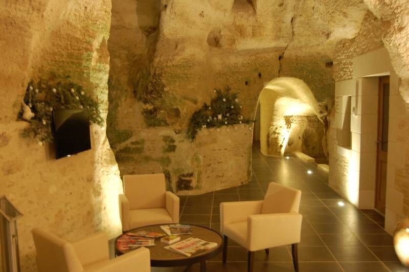 Anjou Rochemenier Maison Troglodyte Maine Et Loire Hotel