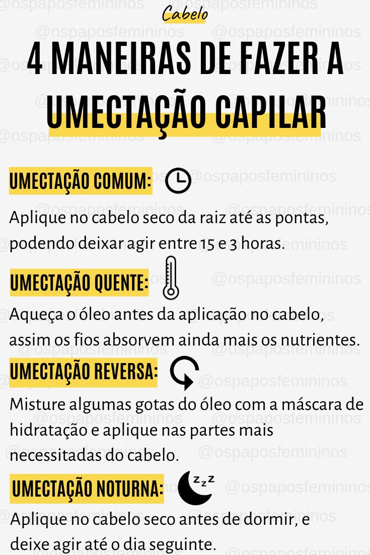 Photo of 4 Maneiras de Fazer a Umectação Capilar