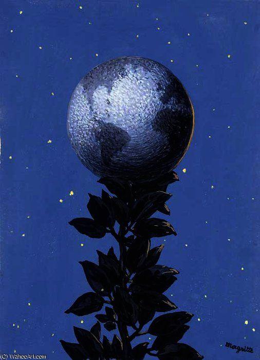 Rene Magritte - le grand modèle   Peintures magritte ...