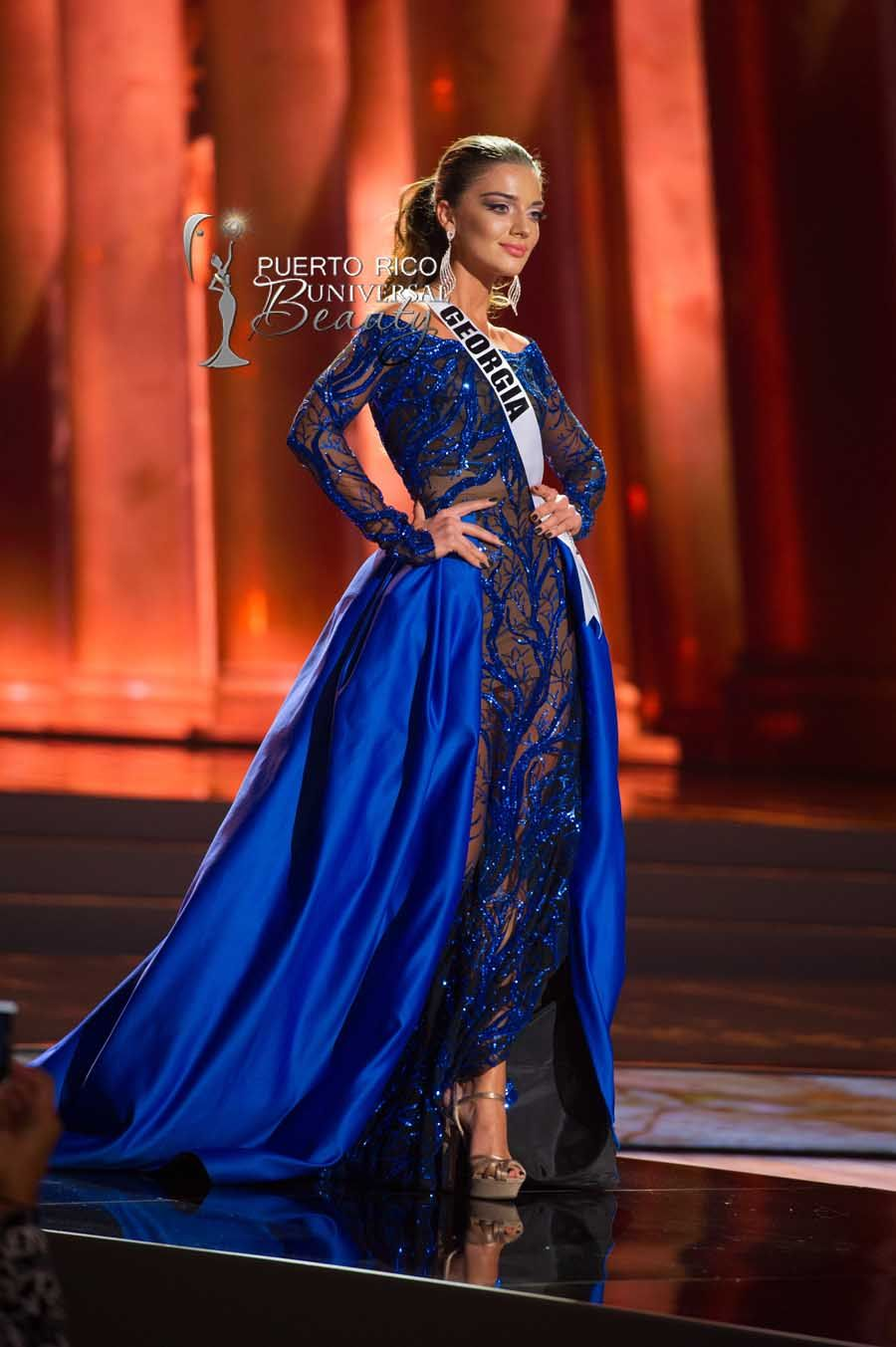 MISS UNIVERSE 2015 :: PRELIMINARY EVENING GOWN COMPETITION | Janet ...