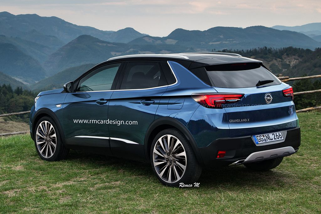 Opel Grandland X Suv Is On The Way The Recently Announced Opel Grandland X Suv Promises To Be Bigger Than Crossland X A Suv That Has Already Been Confirmed By