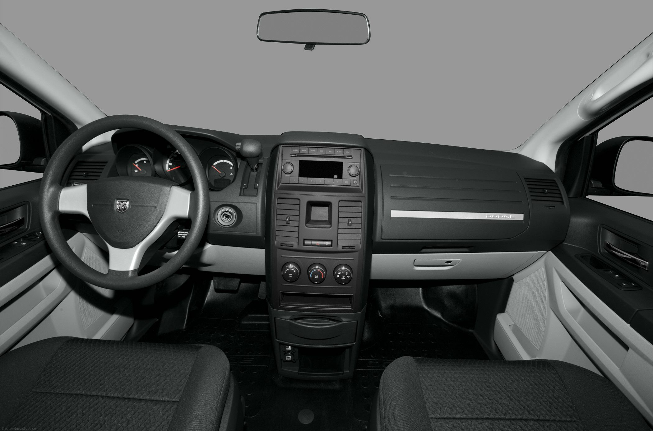 2010 Dodge Grand Caravan Minivan Van C V Cargo Van Interior Front