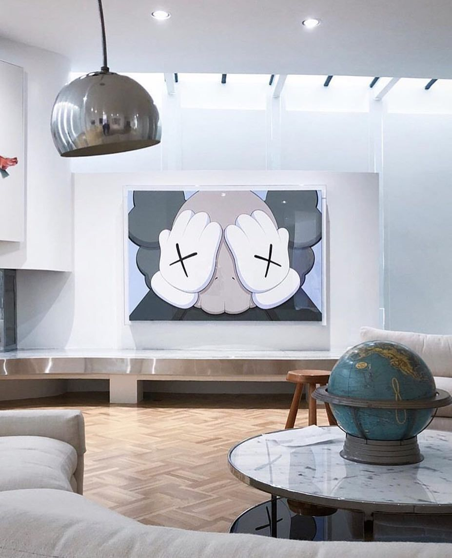 Kaws Courtesy Of The Mrkagan The Kantor Collection Kantorcollection Sublime It S Bothering Me T Man Room Design Hypebeast Room Home Room Design