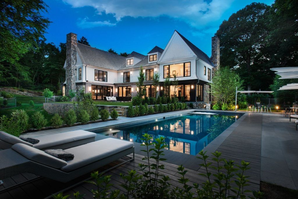 Dive In 5 Homes With Stylish Swimming Pools Sotheby S International Realty Blog Waterfront Homes For Sale Mansions Luxury Real Estate