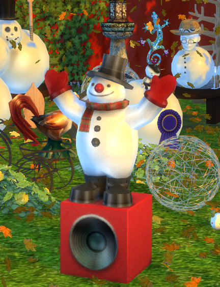 Sims 4 CC's - The Best: TS 2 to 4 Funky Snowman Radio by Haggy