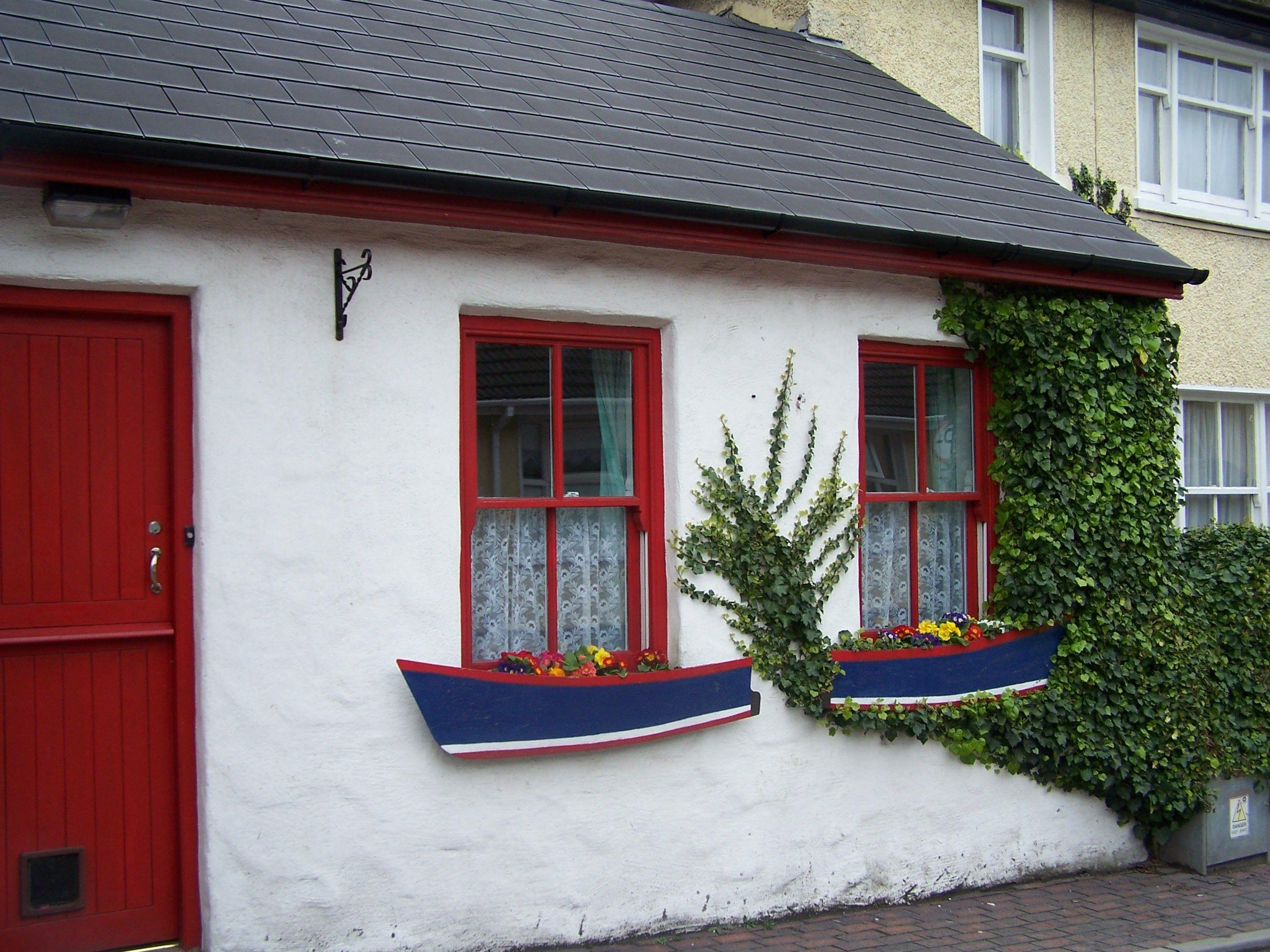 Nautical Window Box in Kinsale, Ireland Ireland Window