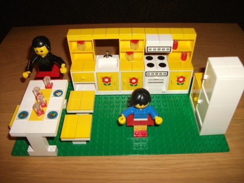 lego puppenstube k che 263 von 1974 ebay lego pinterest. Black Bedroom Furniture Sets. Home Design Ideas
