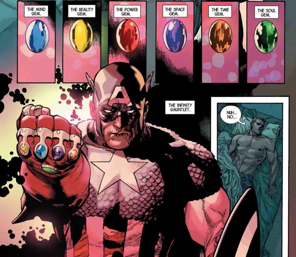 captain marvel infinity gauntlet