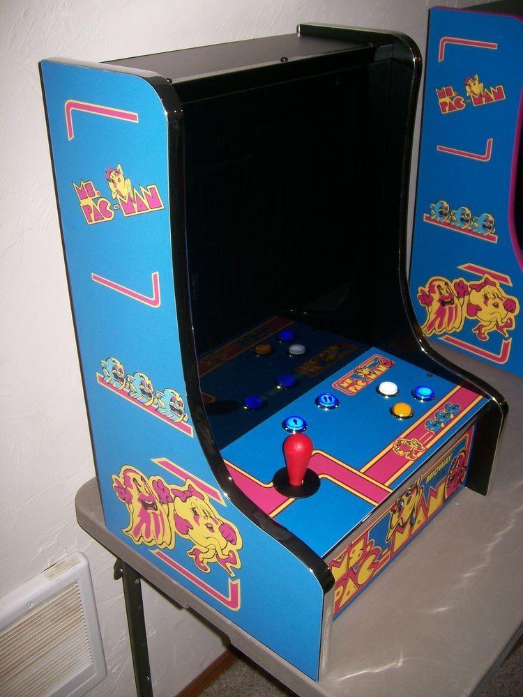 Bar Top Arcade Games Ms Pac Man Custom Bar Top Multi Classic Arcade Game