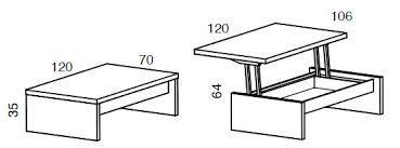 Resultado de imagen para medidas de mesas