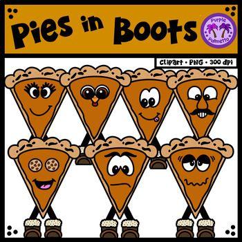 Pumpkin Pie in Boots Clipart | Clip art, Autumn teaching ...