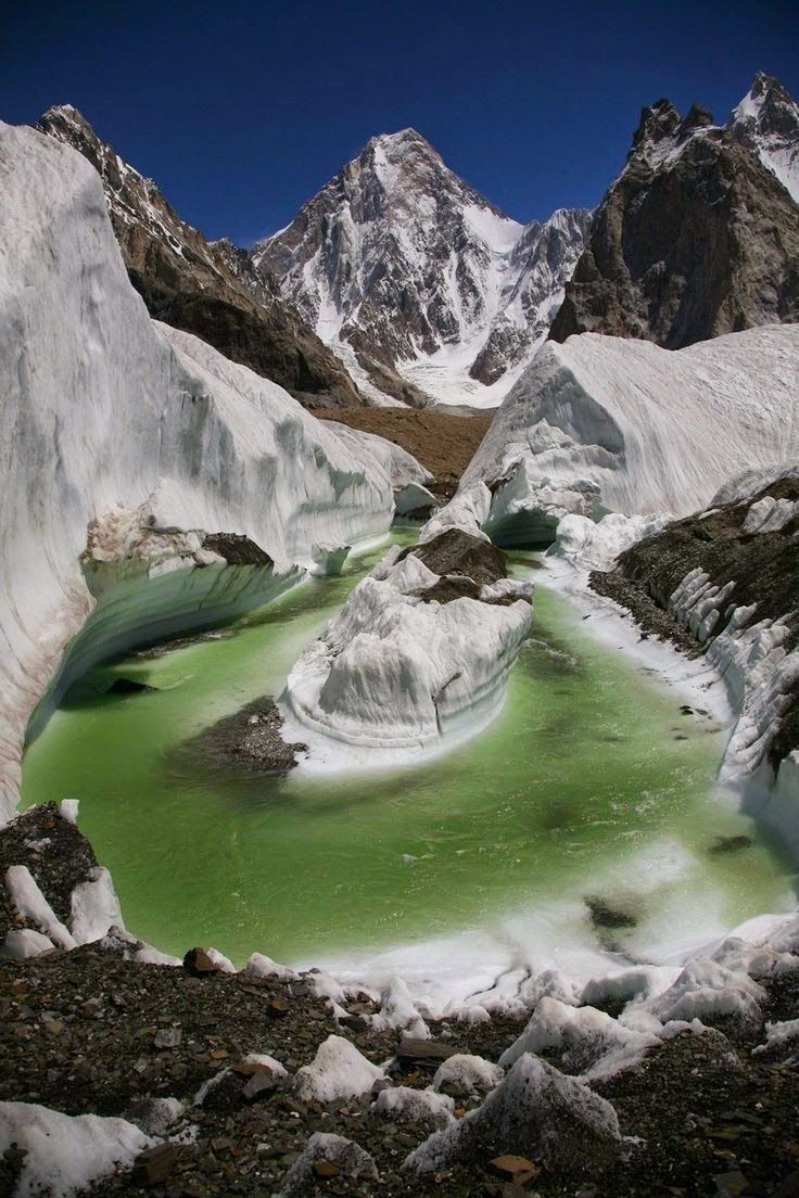 Gasherbrum IV- one of the highest peaks in the world, Pakistan