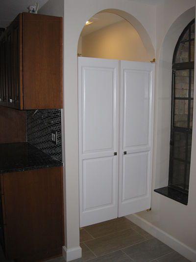 A unique door for the bathroom  Bathroom  Bathroom