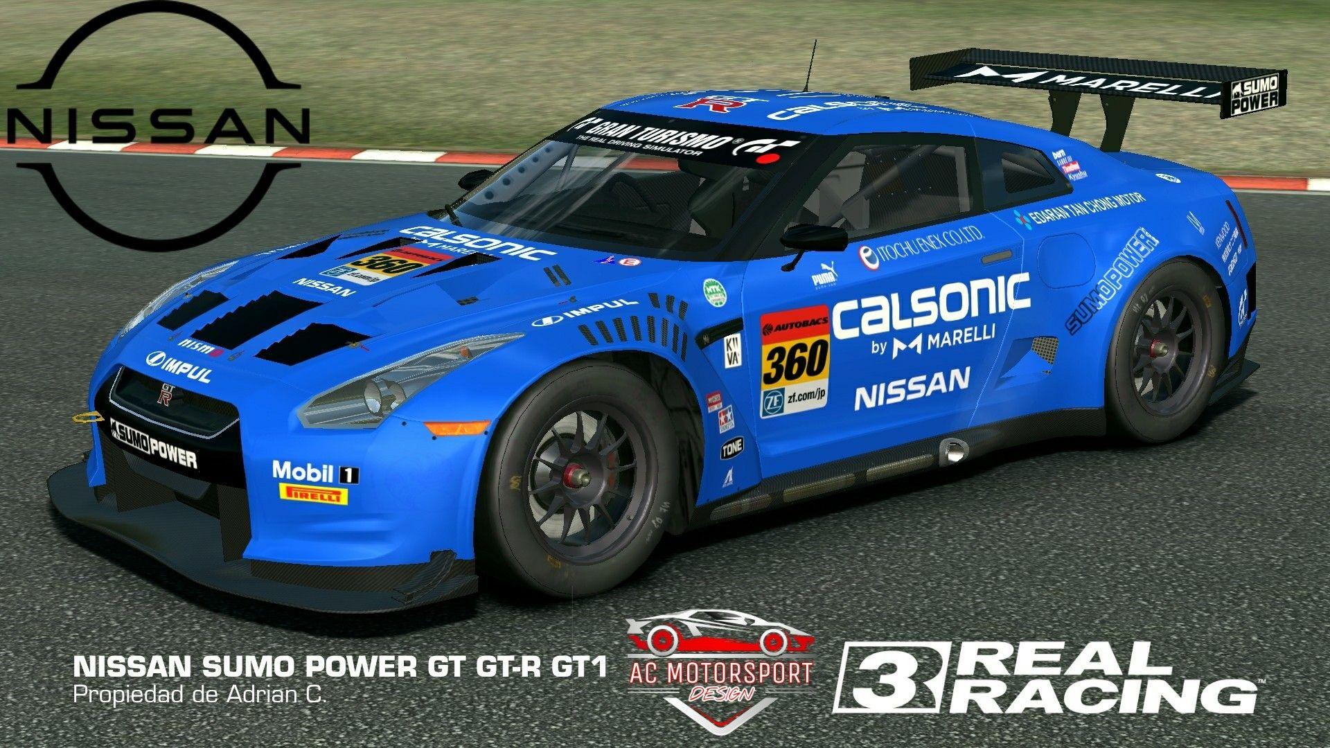 Pin Di Real Racing 3 Livery